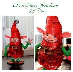 Rise of the Guardians Elf Cake!