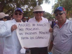 CienciaMédicaAlDía @medicaaldia  33 min La Federación Médica Venezolana salió hoy a las calles de toda Venezuela exigiendo insumos para los hospitales. pic.twitter.com/JhMPXmBB1g 10-03-2014