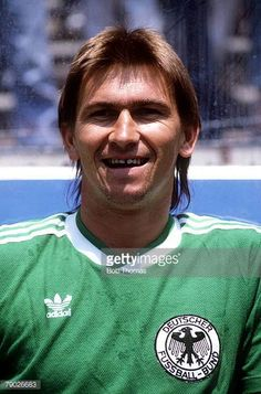 Sport Football 1986 World Cup Final Azteca Stadium Mexico 29th June 1986 Argentina 3 v West Germany 2 West Germany's Klaus Augenthaler