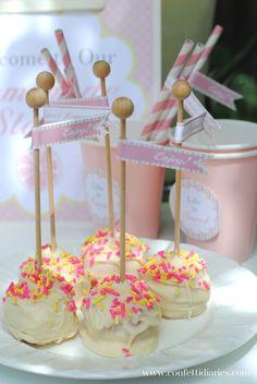 Pink Lemonade Cake Pops