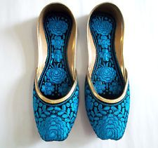 Punjabi jutti khussa shoes indian shoes mojari shoes Wedding shoes jooti UK-7