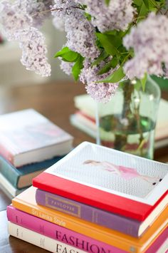 #books and# flowers