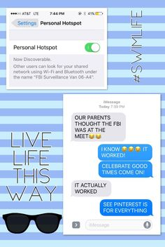 This was so funny! Me and ma bestie did this today- LIVE LIFE THIS WAY