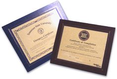 Certificate Holders & Diploma Covers