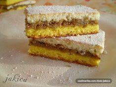 Custard Recipes, Baking Recipes, Cookie Recipes, Dessert Recipes, Desserts, Homemade Sweets, Homemade Cookies, Old Fashioned Nut Roll Recipe, Kolaci I Torte