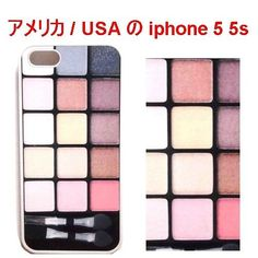 在庫限り アメリカ の お洒落 アイメイク キット プリント Eyebrow Makeup Kit iphone 5 5s case アイフォン ファイブ エス ケース ホワイト 海外 ブランド