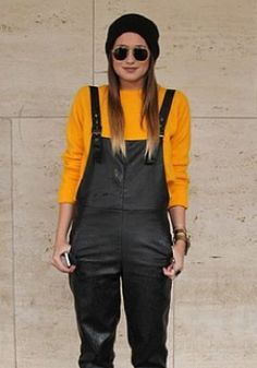 How to wear overalls!