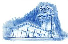 Cars - Quatre Roues - The Art of Disney Art Disney, Disney Pixar Cars, Animation Disney, Film D'animation, Planes, Artist, Paint, Drawing Drawing, Airplanes