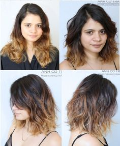 Fantastic Hair Makeover Before And After Pinterest Makeover Hair Short Hairstyles Gunalazisus