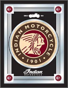 Logo Mirror - Indian Motorcycle