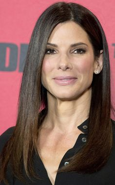 Sandra Bullock's Perfectly Sleek Hair
