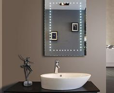 led mirror store such as led mirror aurora,led mirror halo,led mirror infinite for design bathroom. We offer Led mirror,illuminated mirror,electric mirror. Backlit Bathroom Mirror, Lighted Vanity Mirror, Mirror With Lights, Vanity Mirrors, Bathroom Lighting, Mirror Store, Electric Mirror, Illuminated Mirrors