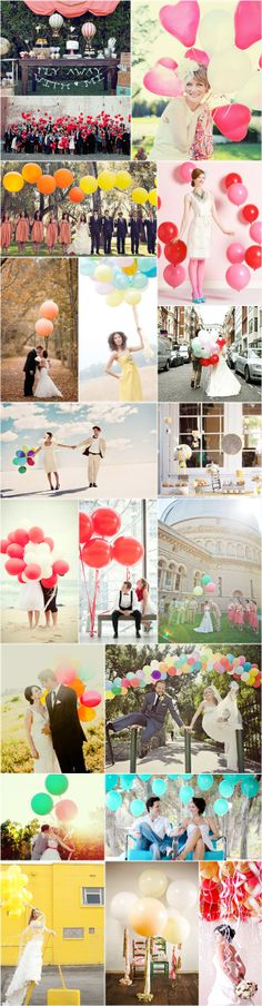 Praise Wedding » Wedding Inspiration and Planning » 33 Lovely Balloon Decor