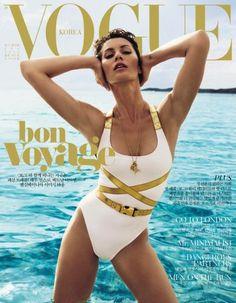 Gisele Bündchen na capa da Vogue Korea de julho
