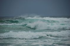 Waves and spray in Saligo Bay, Isle of Islay
