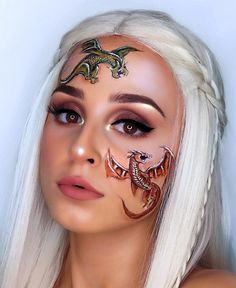 GAME OF THRONES I tried to look like khaleesi, but I think i failed😅 anyways.. who's excited for the new season?😍 ⚔️ PRODUCT