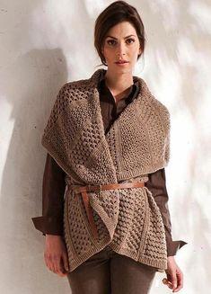 Gilet Crochet, Rubrics, Bohemian, Style, Fashion, Swag, Moda, Fashion Styles, Fashion Illustrations
