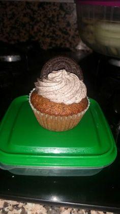 Cup cake de oreo