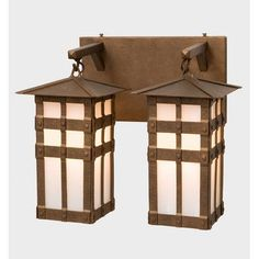 Steel Partners San Carlos 2 Light Outdoor Wall Lantern Finish: Black, Shade Color: White Mica