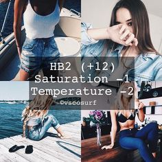 Denim Filter | Free - Looks Best With Denim And Blue Pictures  #vscosurfFREE…