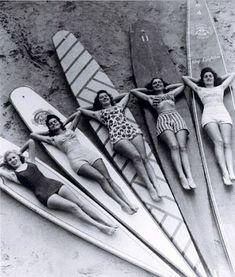 Beach bathers.