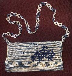 Jeans match handbag!