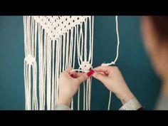 Tuto La suspension en macramé Do It Yourself - DIY