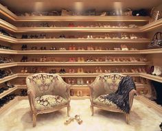 "A genius ""shoe room"". Turns your collection into a trophy room."