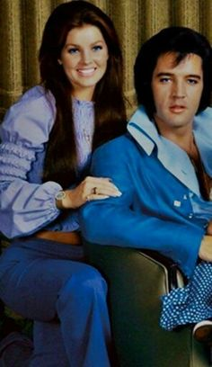 Elvis and Priscilla ❤️ two beautiful people, inside and out.