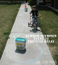 Host Your Own Backyard Summer Olympics. Repinned by Apples and Apps.