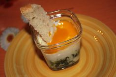 Oeuf cocotte sur lit d'épinards - Les petits plats de Patchouka