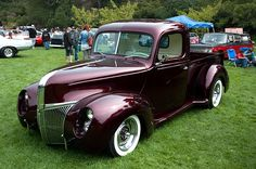 One word: CLEAN 1941 Ford Pickup :: Interview with Owner David Pozzi (1)