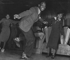 """The Lindy Hop (Also known as the Lindy) originated in the 1920's & 30's in Harlem NY. The Lindy is considered a cultural phenomenon that broke through Race Barriers when segregation was STILL the norm. The Lindy has enjoyed a rebirth since the 80's when swing legend Bill """"muscle head""""Manning (choreographer & performer during the era) was rediscovered. Now the Lindy & other swing dances are part of the trend on the dance floor"""