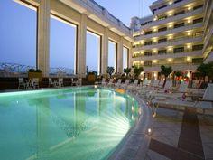 Piscine Hotel Palais de La mediterranee Nice