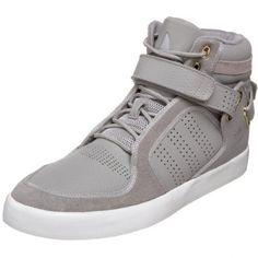 adidas Originals Men's Highrise Fashion Sneaker,Aluminium/Aluminium/Running White,9 D  adidas Originals  $79.95