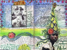 by Anahata Katkin / PAPAYA Inc., via Flickr - - art journal inspiration