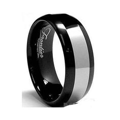 6203ba7a24 COI Tungsten Carbide Ring With Black Plating - TG1922 Tungsten Carbide Rings,  Black Rings,