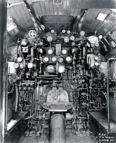 Controls on the PRR Coal Turbine Locomotive