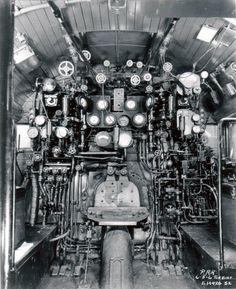 Controls on the PRR Coal Turbine Locomotive