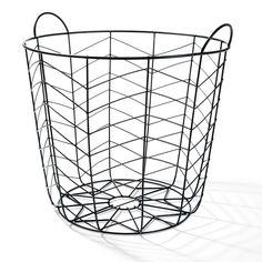 chevron wire basket