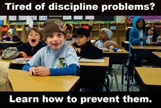 10 Ways to Prevent Discipline Problems