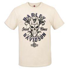 Harley-Davidson Revendeur Chemise  GOOD TIMES  T-Shirt R0019454 Taille M