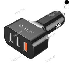 ORICO 3-USB Port Quick Car Charger Quick Charge 3.0 Car Charger QC 3.0 Smart Adapter for Smartphone Tablet RCG-516179