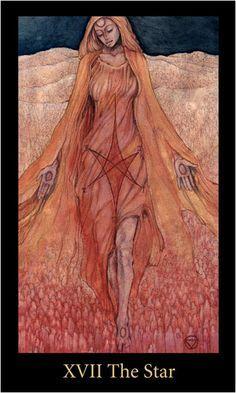 star of Tarot Print - Mary-el Tarot Deck - - Pesquisa Google