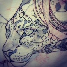 Tattoo Sketches, Tattoo Drawings, Body Art Tattoos, Art Sketches, Tatoos, Zebras, Neo Traditional Art, Rite De Passage, Tattoo Coloring Book