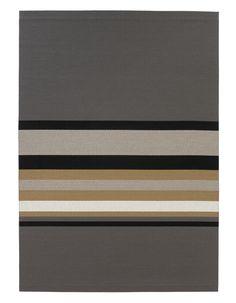 Woodnotes paper yarn carpet Horizon col. grey-natural.