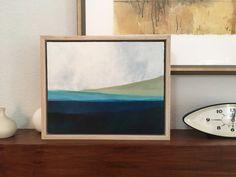 Original abstract landscape framed art home decor by Tuesdaymoon