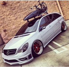 Mercedes R Class, Mercedes Benz R350, Custom Mercedes, Wagon Cars, Shooting Brake, Modified Cars, Custom Cars, Super Cars, Volkswagen
