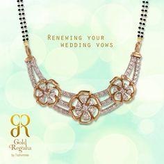 Renewing your #Wedding Vows..! Mangalsutra #Pendants  :www.goldregalia.com  #GoldJewellery #Jewellerycollection #TraditionalJewellery