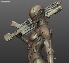 ArtStation - Sci-Fi Costume Design in ZBrush - with Luca Nemolato, Luca Nemolato
